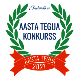 Pulmad.ee Aasta Tegija 2021 - alustame kandidaatide kogumist!