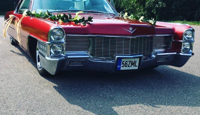 Pulmaauto Cadillac Coupe DeVille 1965