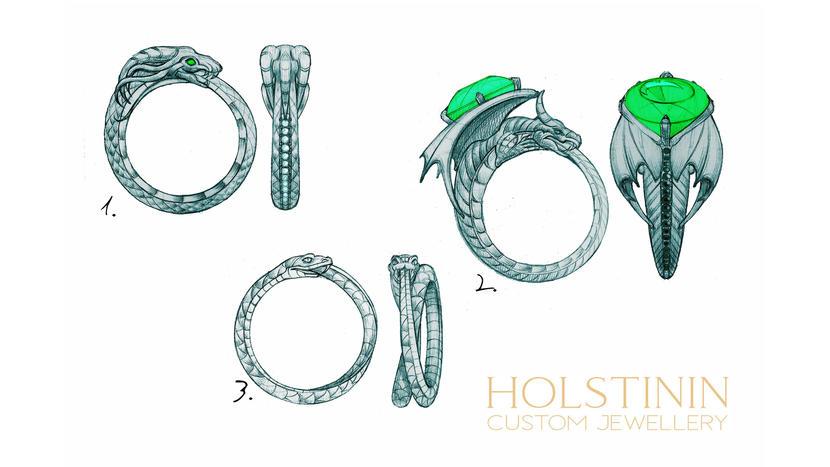 Holstinin Custom Jewellery   Eksklusiivsed kihla - ja abielusõrmused